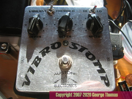 New Power Supply for Austone Vibrostomp
