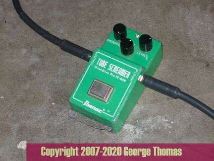 Ibanez TS-808 Big Bottom Screamer Mod